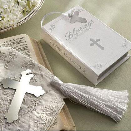 Silver Cross Book Mark