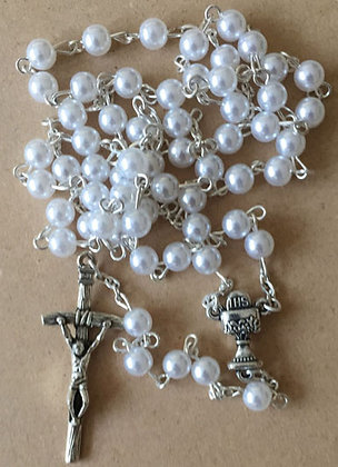 White PearlsRosary