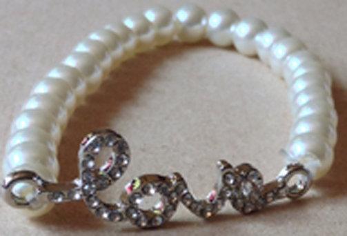 LOVE Bracelet of Pearls [24007]