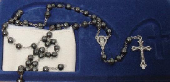 Rosary Hematite black 8mm