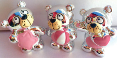 Pink Pengueines Hearts