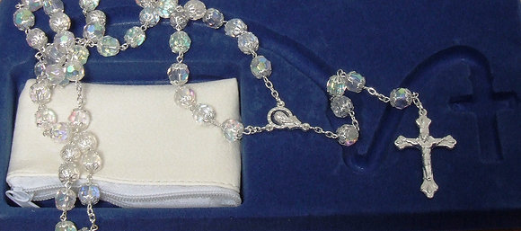 Rosary Glass beads Clear