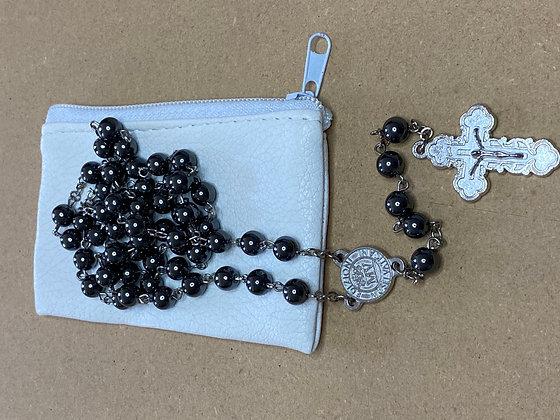 Rosary Hematite Black 6mm