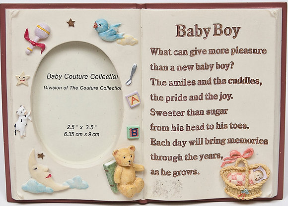 Picture Frame Book for Baby Boy [11-7715]