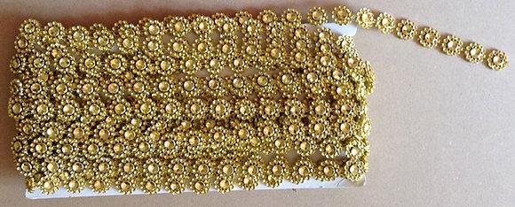 Acrylic Decoration Gold [54205]
