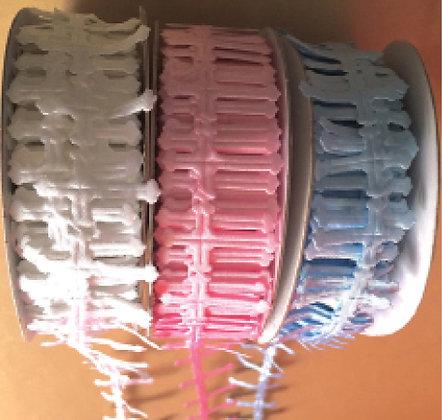 Ribbons cross in 3 colors