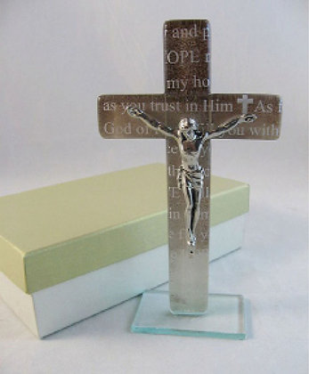 Crucifix Murano Glass