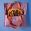 Thumbnail: Porte-tarte vichy violet   en pré-commande