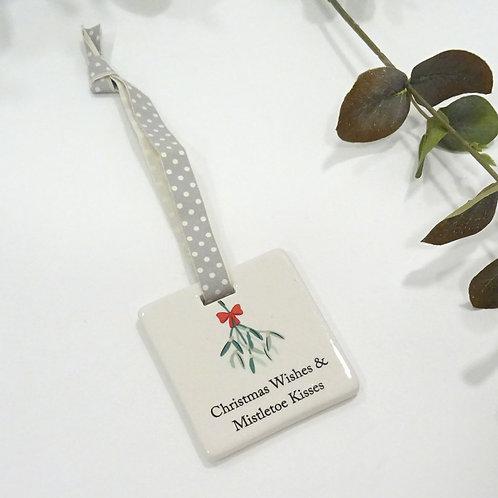 Christmas Wishes tree decoratation
