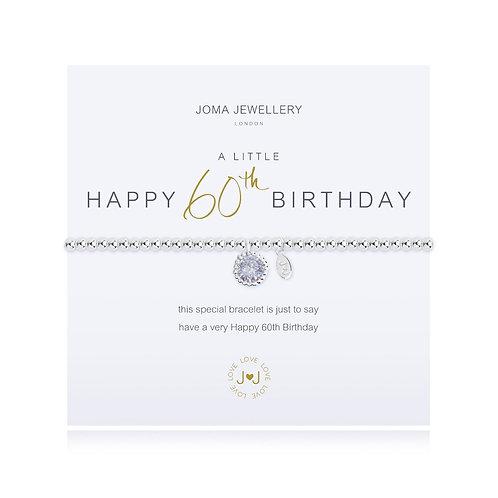 joma jewellery 60th birthday gift bracelet