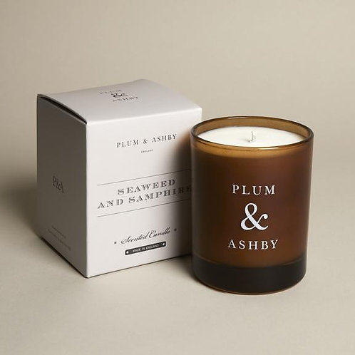 amazingly scented seaweed and samphire candle