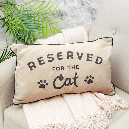 sass and belle fabric cushion reserved for cat