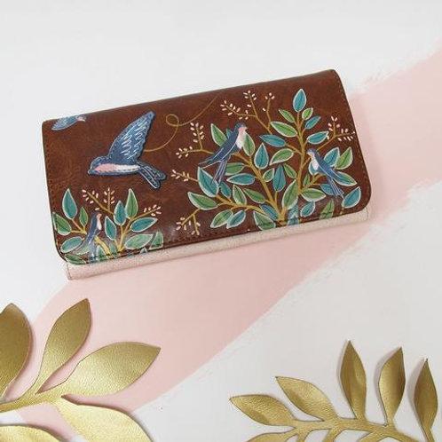 bird design wallet