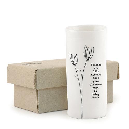 East of India medium Friends vase