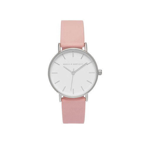estella bartlett watch with pink strap