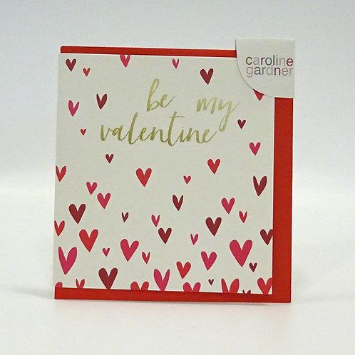 caroline Gardner Valentine card
