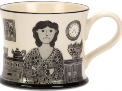 Grumpy Old Woman Mug