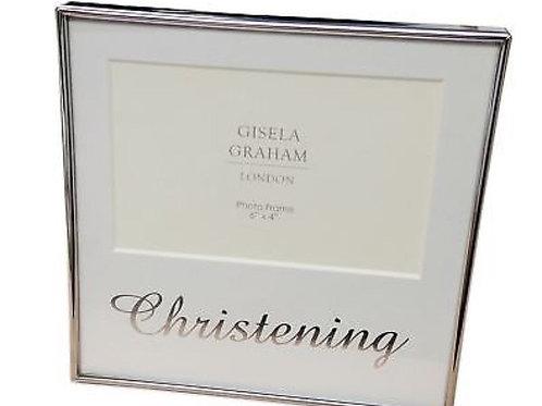 Gisella Graham Christening frame