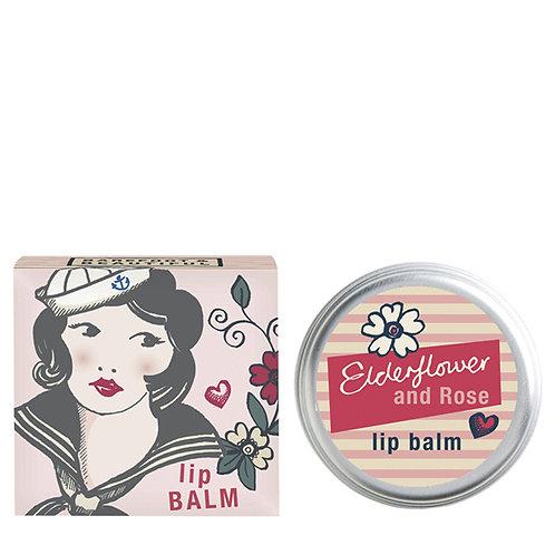 elderflower and rose lip balm