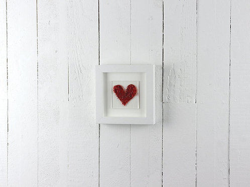 Jo Downes Red Frit Art Frame
