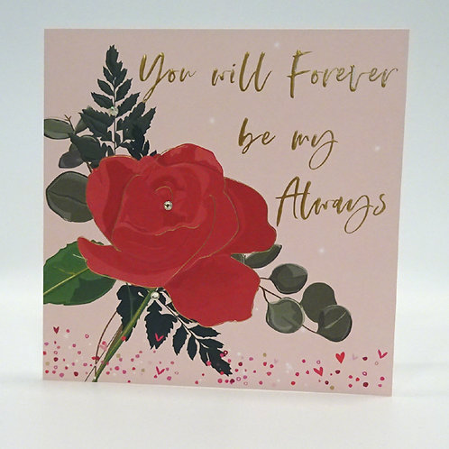 You will forever be my always card