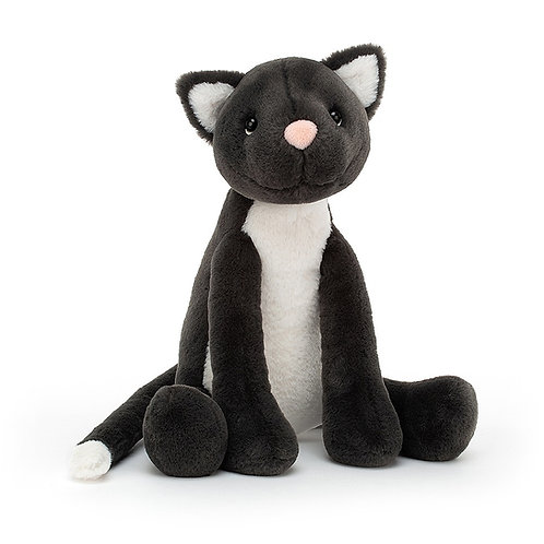 Meg Black cat jellycat soft toy