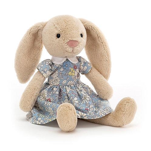 floral lottie bunny soft toy by jellycat