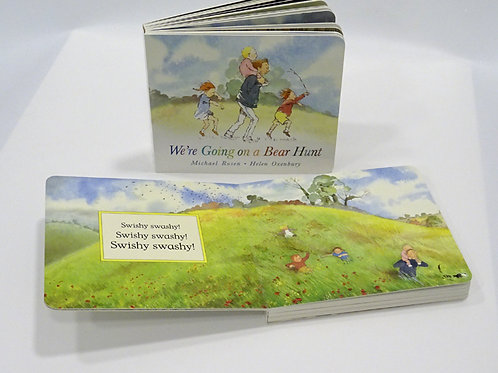 We're going on a bear hunt classic childrens reading book