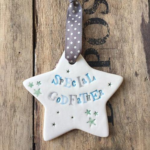 Special Godfather Ceramic Star