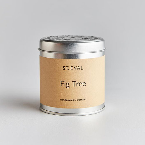 St Eval Tinned Candle Fig Tree