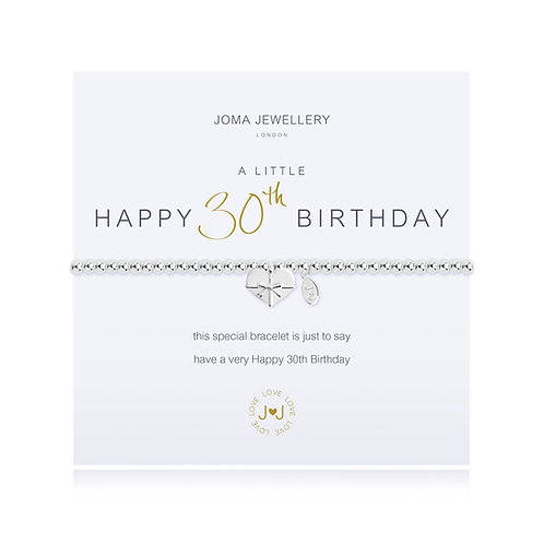 Joma bracelet for 30th birthday