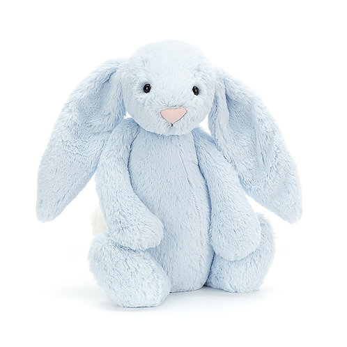 amazing blue jellycat rabbit