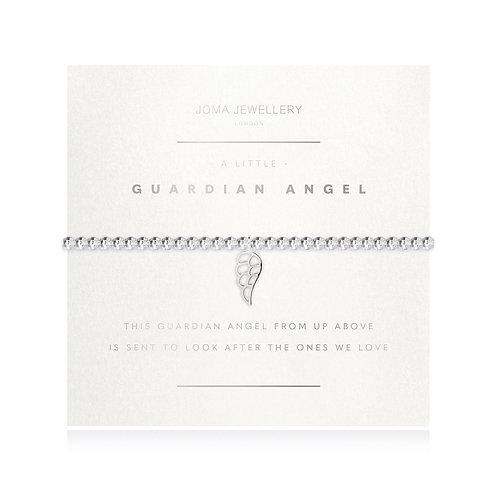 silver guardian angel bracelet