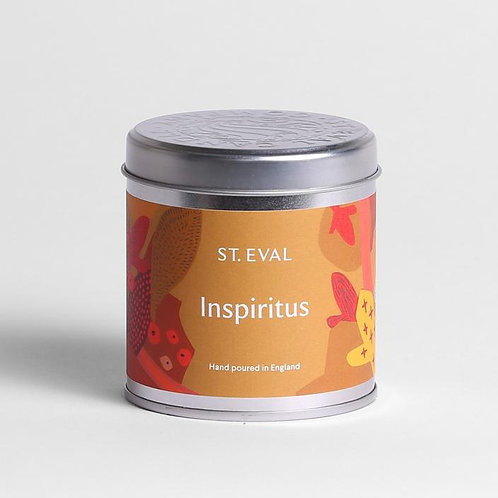 St Eval Inspiritus tinned candle