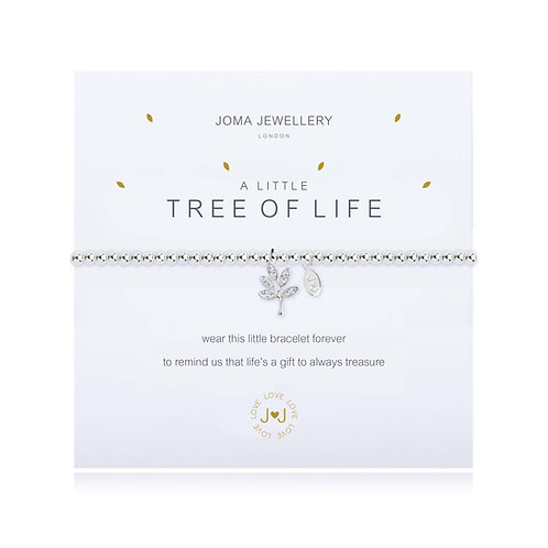 tree of life charm bracelet by joma jewellery