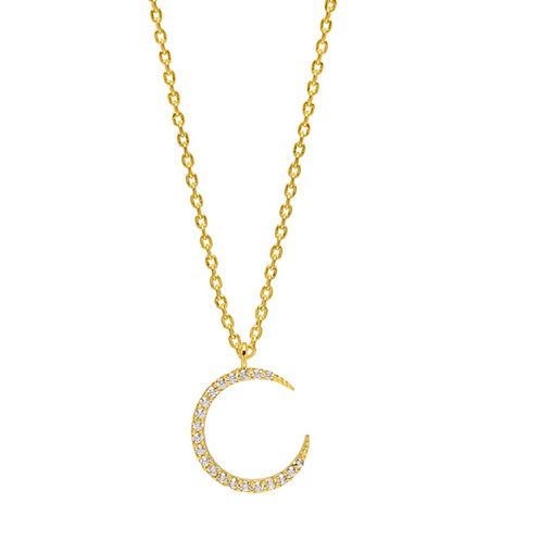 Shine Bright gold plated necklace from Estella Bartlett