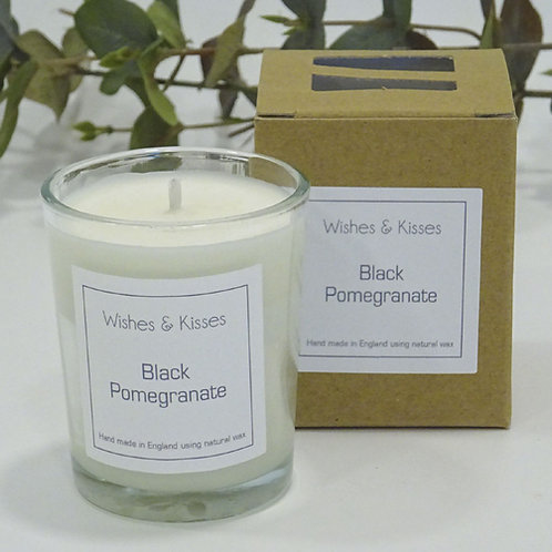 small wishes and kisses candle