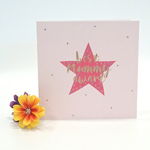 belly button mothers day card