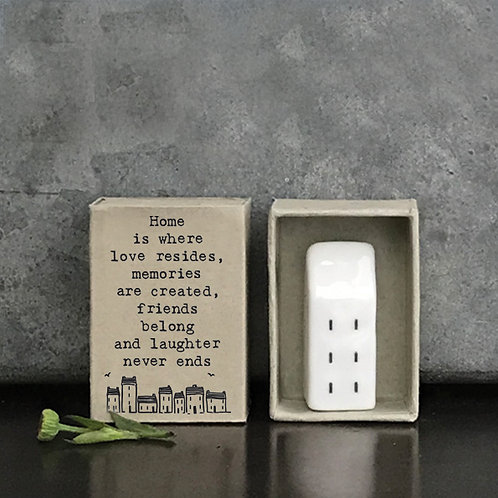 Home is Where Love Resides Matchbox