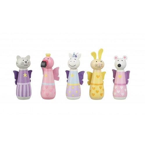 animal fairy character skittle set