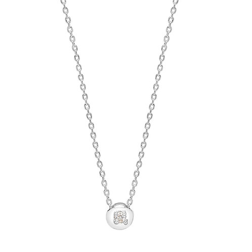 Just Imagine silver necklace by Estella Bartlett