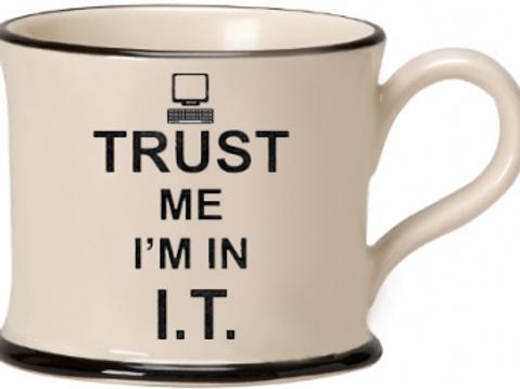 Trust Me I'm In I.T. Mug