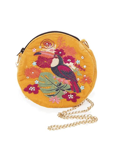 mustard handbag by powder design