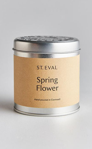 Spring Flower Tinned Candle