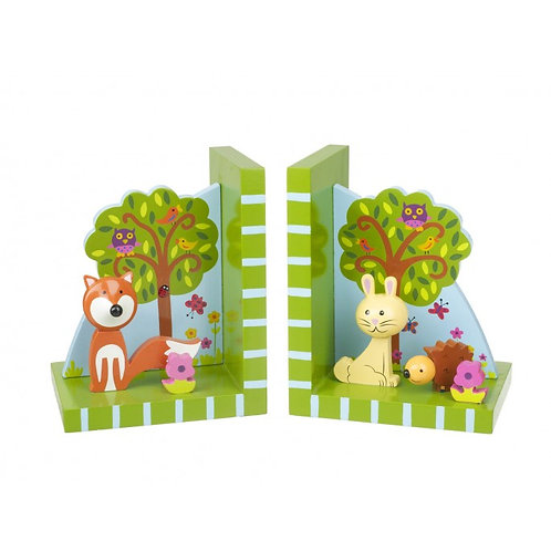 Woodland Themed Bookends