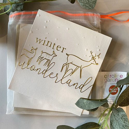 Winter Wonderland card set by Caroline Gardner