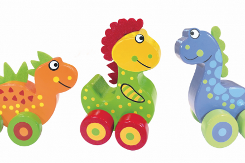 My First Dino wooden toys by Orange Tree