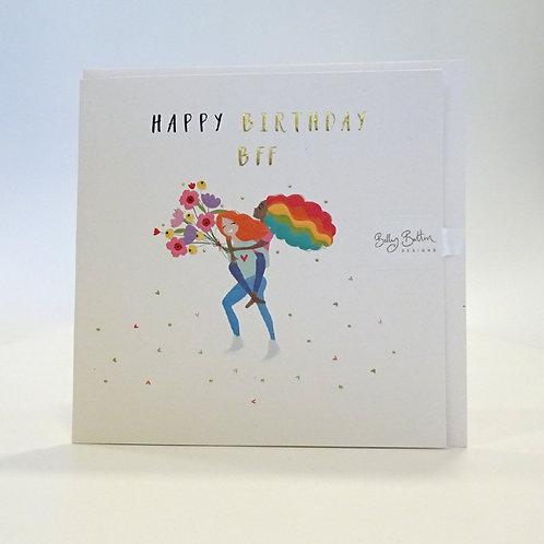 BFF birthday Card