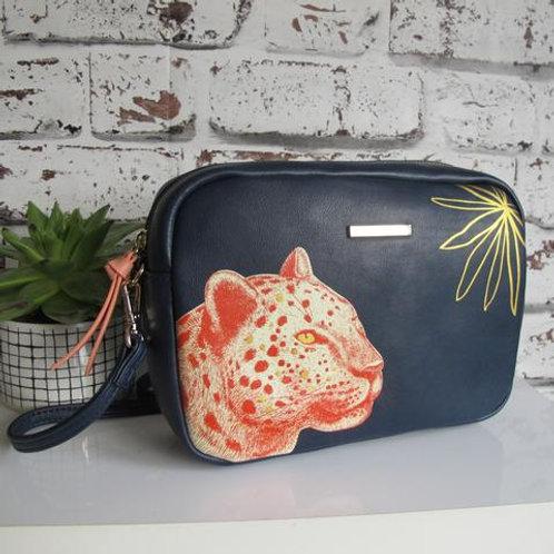 disaster design leopard bag