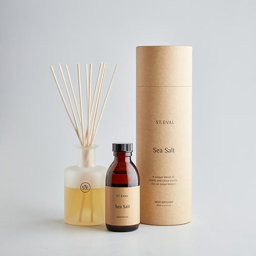 sea salt scented reed diffuser from st eval
